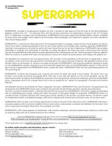 SUPERGRAPH  Australia's Contemporary Graphic Art Fair